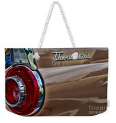 Vintage Ford Thunderbird Weekender Tote Bag