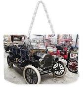 Vintage Ford Vehicle Weekender Tote Bag by Douglas Barnard