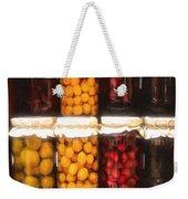 Vintage Fruit And Vegetable Preserves II Weekender Tote Bag