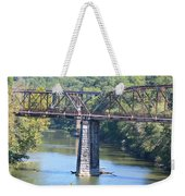 Vintage Garden City Bridge Weekender Tote Bag