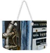 Vintage Gas Pump 2 Weekender Tote Bag
