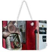 Vintage Gas Pump Weekender Tote Bag