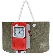 Vintage Gas Station Air Pump 2 Weekender Tote Bag