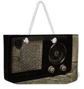 Vintage Ge Radio Weekender Tote Bag