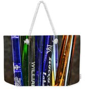 Vintage Glass Cocktail Stirrers Weekender Tote Bag