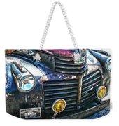Vintage Gm Truck Hdr 2 Grill Art Weekender Tote Bag