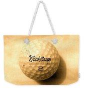 Vintage Golf Ball Weekender Tote Bag