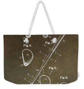 Vintage Golf Club Patent Weekender Tote Bag