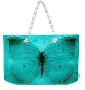 Vintage Grunge Butterfly Weekender Tote Bag