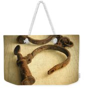 Vintage Handcuffs Weekender Tote Bag