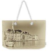 Vintage Harbor Weekender Tote Bag