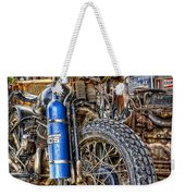 Vintage Harley With Nos Weekender Tote Bag