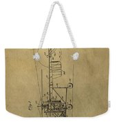Vintage Helicopter Patent Weekender Tote Bag