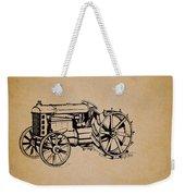 Vintage Henry Ford Tractor Patent Weekender Tote Bag