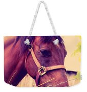 Vintage Horse Weekender Tote Bag