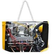 Vintage Hotrod Engine Weekender Tote Bag