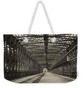 Vintage Iron Truss Bridge Weekender Tote Bag