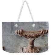 Vintage Iron Work Weekender Tote Bag