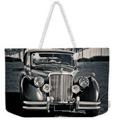 Vintage Jaguar 1950s Weekender Tote Bag
