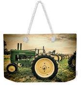 Vintage John Deere Tractors Weekender Tote Bag