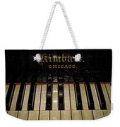 Vintage Kimball Piano Weekender Tote Bag