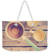 Vintage Kitchen Filtered Weekender Tote Bag