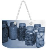 Vintage Kitchen Glass Jar Canning Weekender Tote Bag