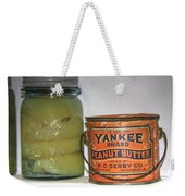 Vintage Kitchen Pantry Pairs And Peanut Butter Weekender Tote Bag
