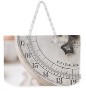 Vintage Kitchen Scale Weekender Tote Bag