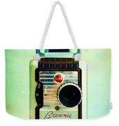 Vintage Kodak Brownie Movie Camera Weekender Tote Bag