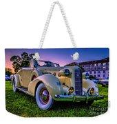 Vintage Lasalle Convertible Weekender Tote Bag