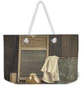 Vintage Laundry Room II By Edward M Fielding Weekender Tote Bag