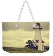 Vintage Lighthouse Pei Weekender Tote Bag