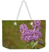 Vintage Lilac Bush Weekender Tote Bag