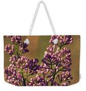 Vintage Lilac Weekender Tote Bag