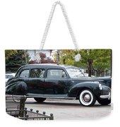 Vintage Lincoln Limo 1941 Weekender Tote Bag