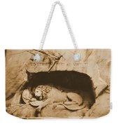 Vintage Lion Of Lucerne Weekender Tote Bag