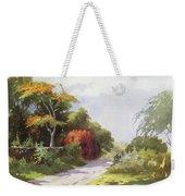 Vintage Manoa Valley Weekender Tote Bag