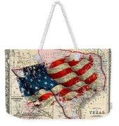 Vintage Map Of Texas 2 Weekender Tote Bag