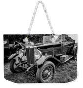 Vintage Mg Weekender Tote Bag