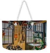 Vintage Michigan Machine Shop Weekender Tote Bag