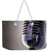 Vintage Microphone 2 Weekender Tote Bag