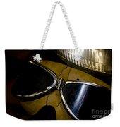 Vintage Motorcycle Goggles Weekender Tote Bag