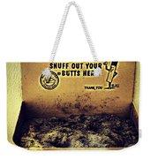 Vintage Mr. Butt Snuffer Ashtray Weekender Tote Bag