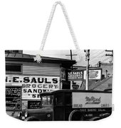 Vintage New Orleans 1936 Weekender Tote Bag