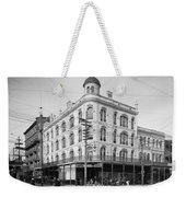 Vintage New Orleans 4 Weekender Tote Bag