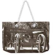 Vintage Oil Rig Santa Rita No. 1 Weekender Tote Bag