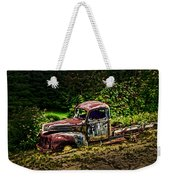 Vintage Old Forty's Pickup Weekender Tote Bag