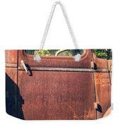Vintage Old Rusty Truck Weekender Tote Bag