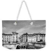 Vintage Paris 5b Weekender Tote Bag